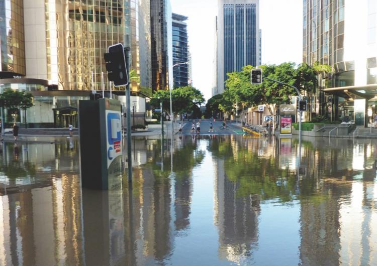 Brisbane City Floods. Photo: Andrew Kesper. CC-BY-2.0