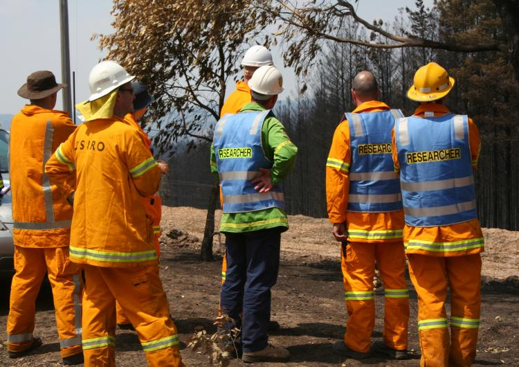 The Victorian Bushfires Research Taskforce at Wandong