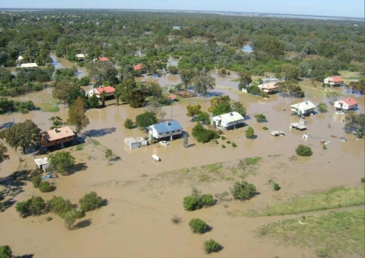 Floods in New South Wales 2012.