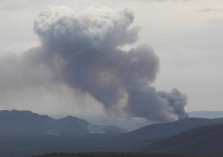 Grampians Fire, February 2013. Photo: Randall Bacon, CFA