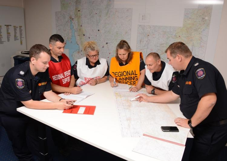 Regional Coordination Team. Photo: SA Country Fire Service.