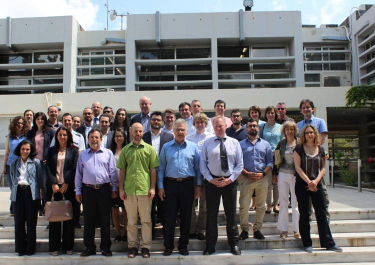 CIRCLE Stakeholder Advisory Group members in Athens.