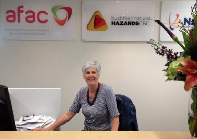 A new reception - with Marg Staples