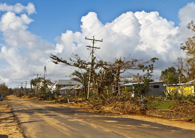Research has informed a new grant scheme that is retrofitting homes in north Queensland to mitigate against a tropical cyclones. Photo: Michael Dawes (CC BY-NC 2.0.)