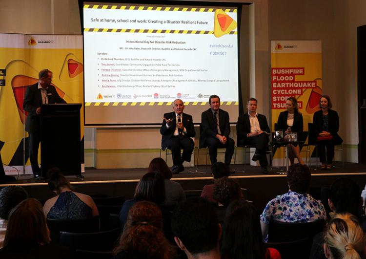 Panel discussion, International Day for Disaster Reduction 2017