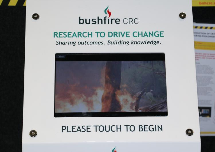 Research to Drive Change videos on a tablet