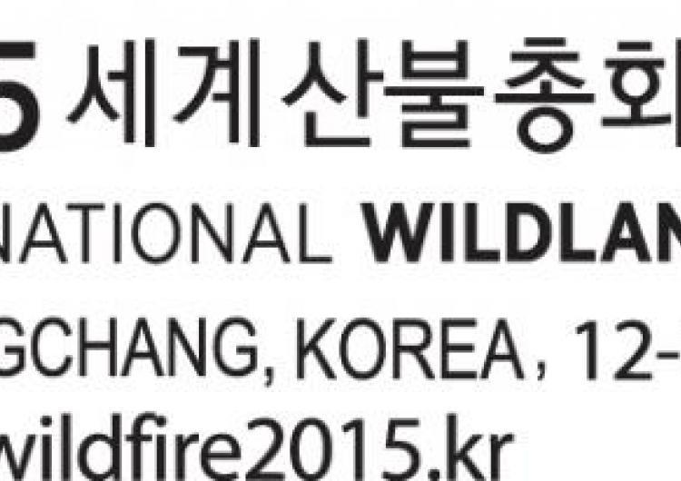 International Wildland Fire Conference 2015 logo