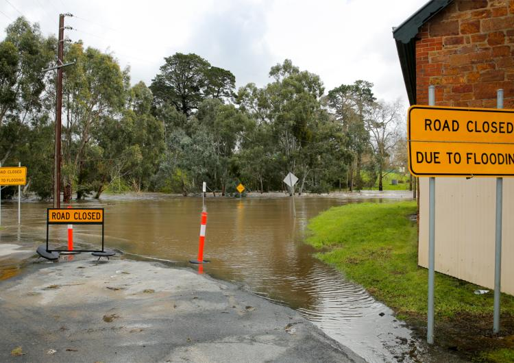 Adelaide floods September 2016. Photo: SA SES