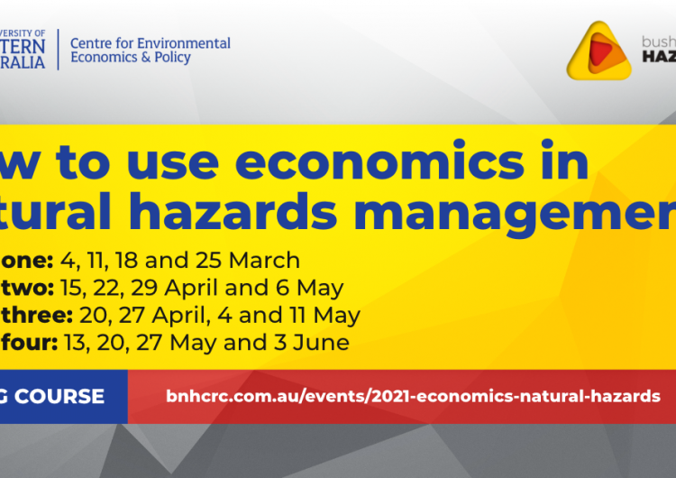 How to use economics in natural hazards management