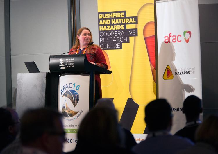 Research Forum at Brisbane AFAC16