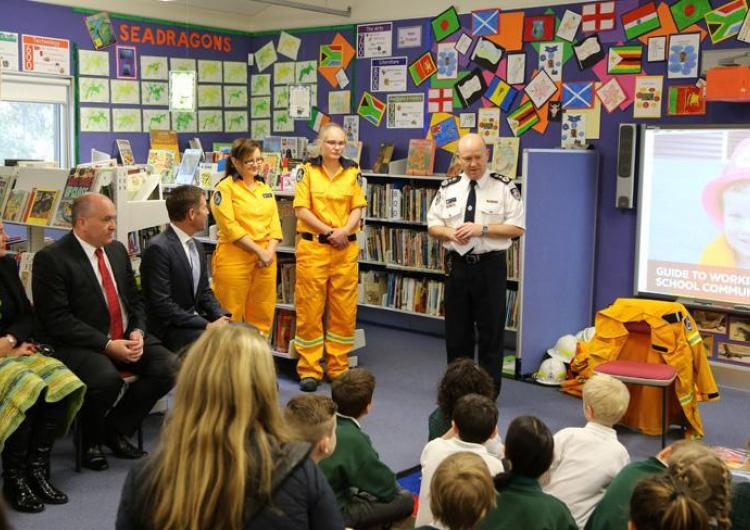 NSW RFS Schools Program. Photo: Ben Shepherd NSW RFS