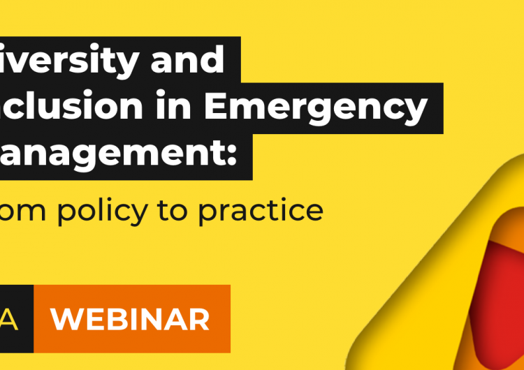 Q&A with the panellists   Diversity and inclusion in emergency management: from policy to practice