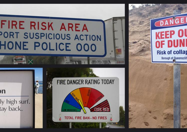 This research offers strategies that emergency agencies could use to minimise the negative effect of conflicting information during a natural hazard. Photos: Bushfire and Natural Hazards CRC