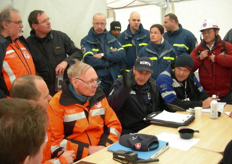 This research explored the complexities of strategic decision making during the deployment of the Australian Urban Search and Rescue team to Fukushima, Japan, in 2011. Photo: Fire and Rescue NSW