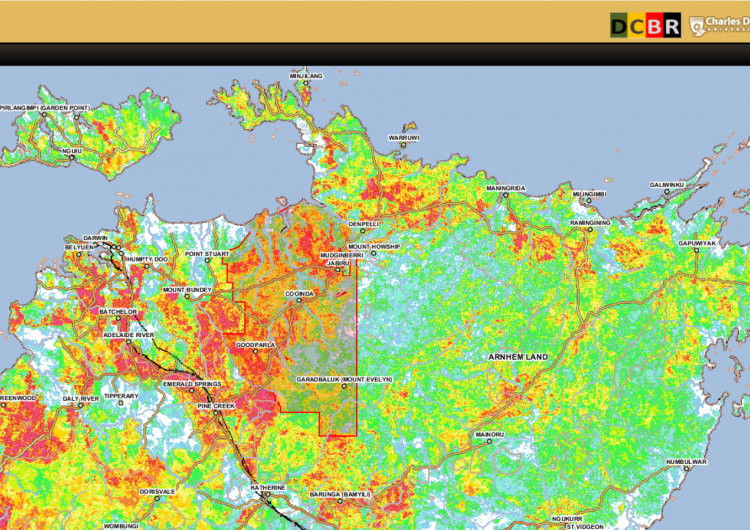 SMERF provides web-based fire maps across Australia's northern savannas and rangelands.