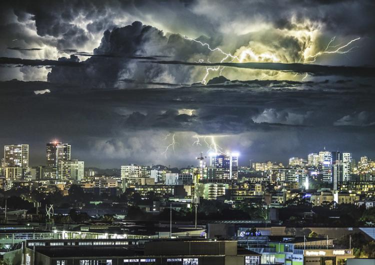Sydney storm. Photo: Andrew Xu (CC BY-SA 2.0)