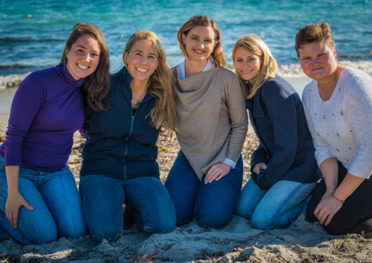Dr Veronique Florec is making the trip to Antarctica with fellow West Australian's Jessica Brainard (Western Australia Museum), Rachel Zombor (WA Department of Heath), Anais Pages (CSIRO) and Valerie Sage (CSIRO).