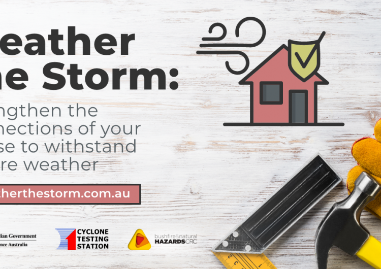 A new website called Weather the Storm has been developed to inform builders and homeowners about how to improve an existing home's key structural connections against extreme wind.