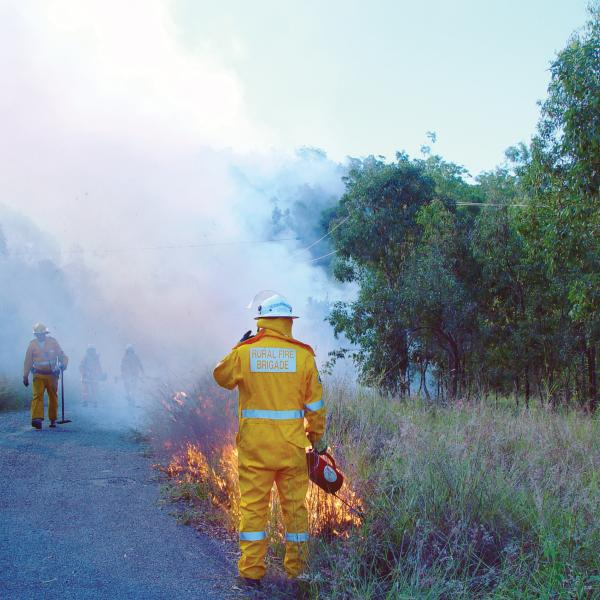 Changing the focus at QFES. Photo: Queensland Fire and Emergency Services.