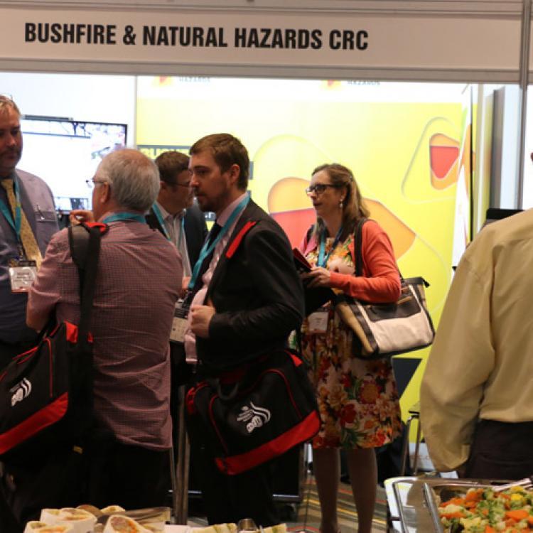 CRC booth at ANZDMC 2015