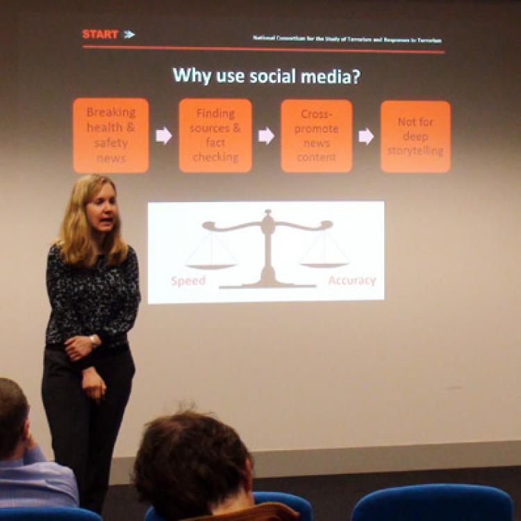 Dr Brooke Liu - US communications expert