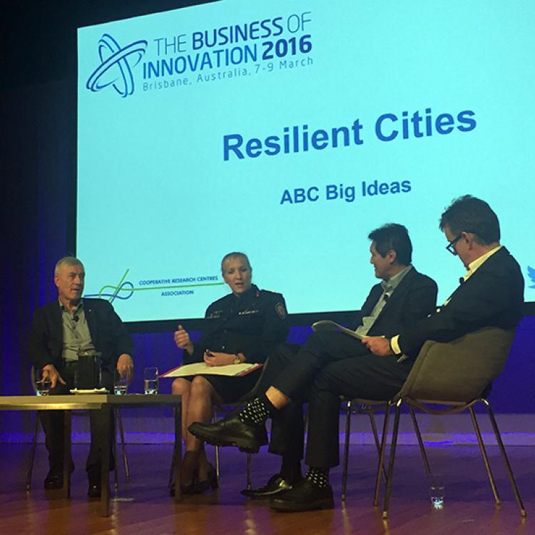 Commissioner Katarina Carrol spoke on ABC Big Ideas on Resilient Cities
