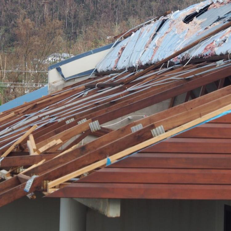 Roof damage from Cyclone Debbie (Picture: Cyclone Testing Station, JCU)