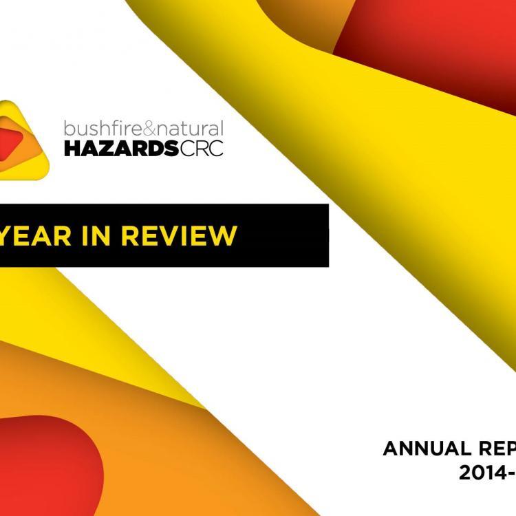 2014-2015 annual report cover