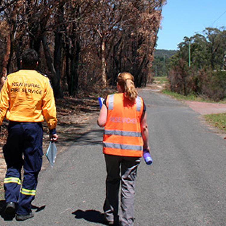 NSW RFS and CRC researchers in partnership