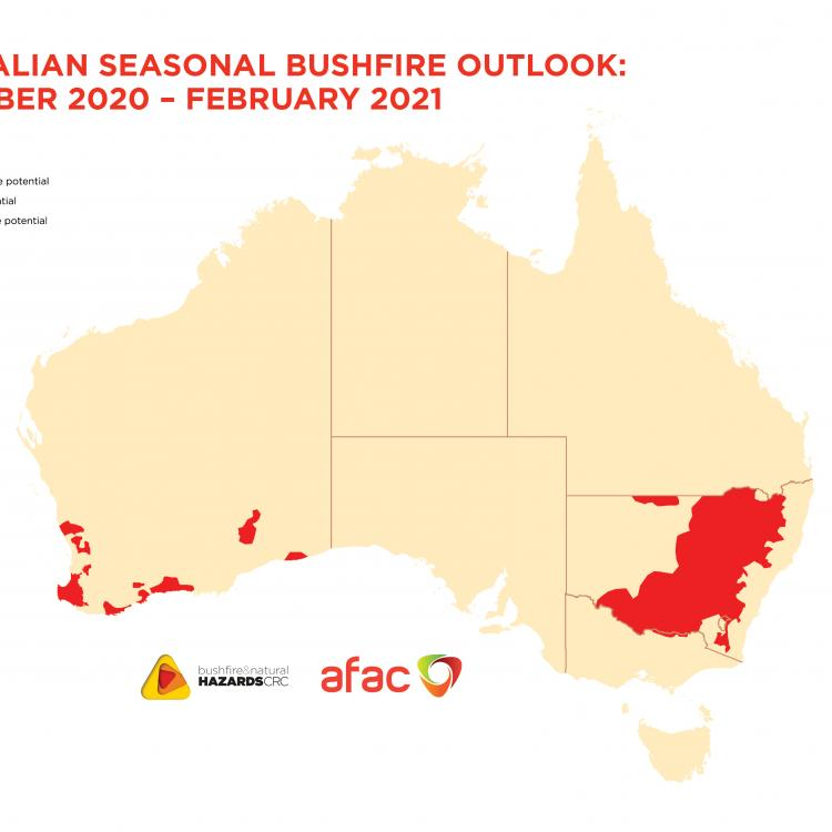 Australian Seasonal Bushfire Outlook: December 2020 - February 2021