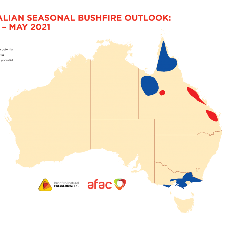Australian Seasonal Bushfire Outlook: March - May 2021