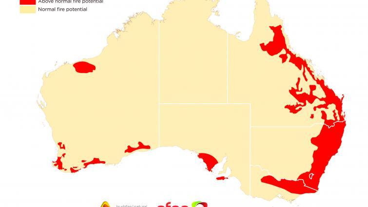 Australian Seasonal Bushfire Outlook December 2019