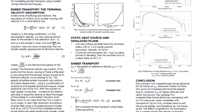 Incorporation of spotting and fire dynamics in a coupled atmosphere - fire modelling framework