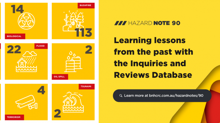 Hazard Note 90 – Learning lessons from the past with the Inquiries and Reviews Database
