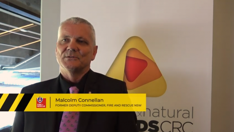 Malcolm Connellan, Former Deputy Commissioner at Fire and Rescue NSW, shares how CRC research has benefited the agency