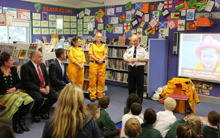 NSW RFS Schools Program. Photo: Ben Shepherd, NSW RFS