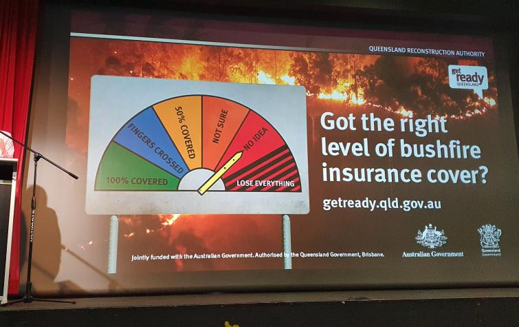 The Bushfire Recovery and Resilience Forum took place on 15 May in Yeppoon, hosted by Livingstone Shire Council and Growcom. Photo: Bushfire and Natural Hazards CRC.