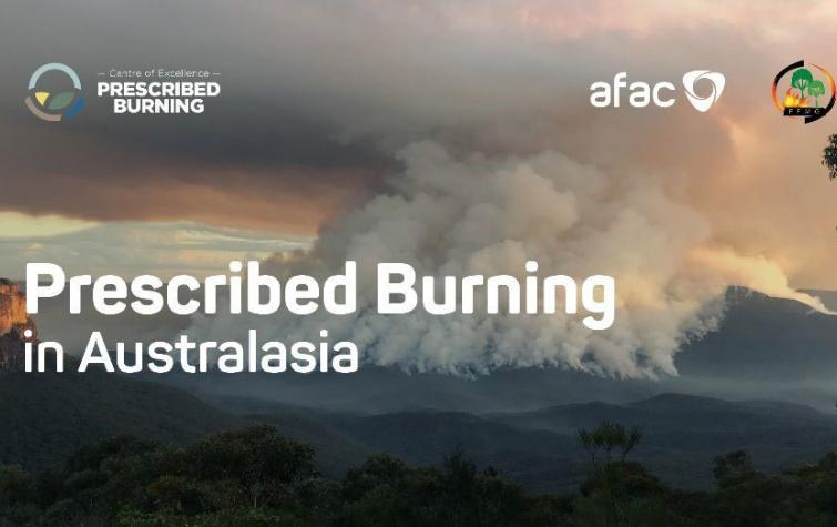 Prescribed Burning in Australasia is a new book that features several key CRC researchers and partners. Photo: Ross Bradstock and AFAC