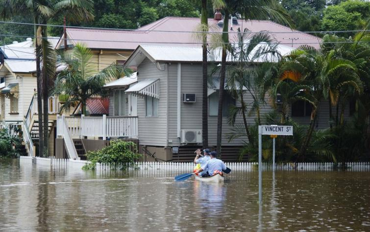 Bris Floods. Photo: Angus Veitch