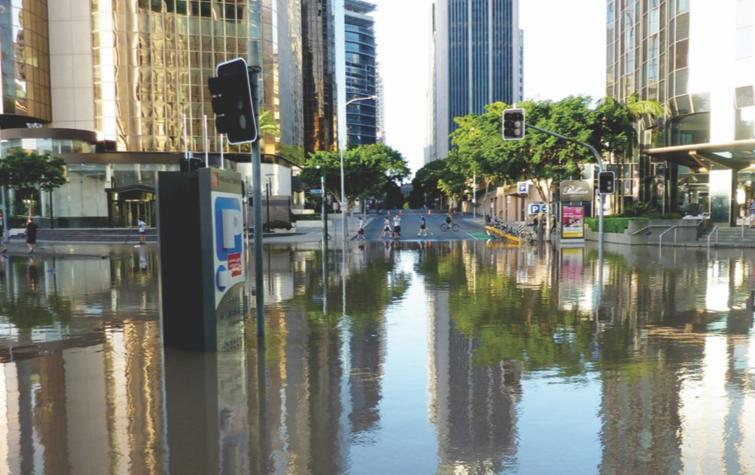 Brisbane City Floods. Photo: Andrew Kesper. CC-BY-2.0