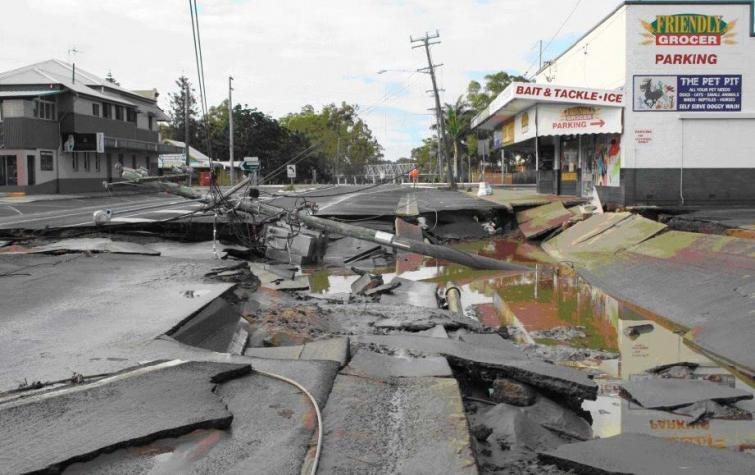 Queen Street North Bundaberg. Source: Bundaberg Police