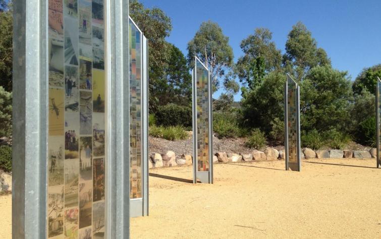 Canberra Bushfires Memorial. Photo: Melissa Parsons.