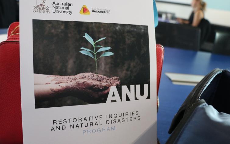 Restorative inquiries and natural disasters symposium.