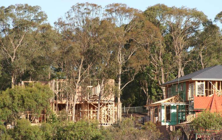 Melbourne's urban-bush interface presents challenges for managing fire risk.