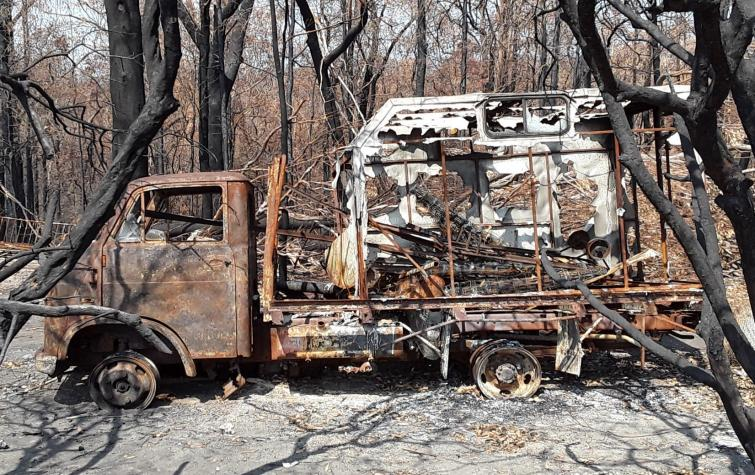 Black Summer Fires. Source: Risk Frontiers