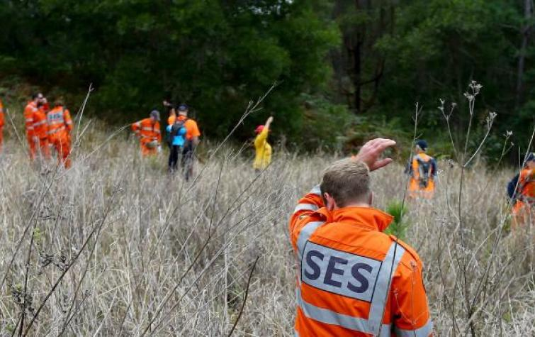 State Emergency Service volunteers during an emergency.