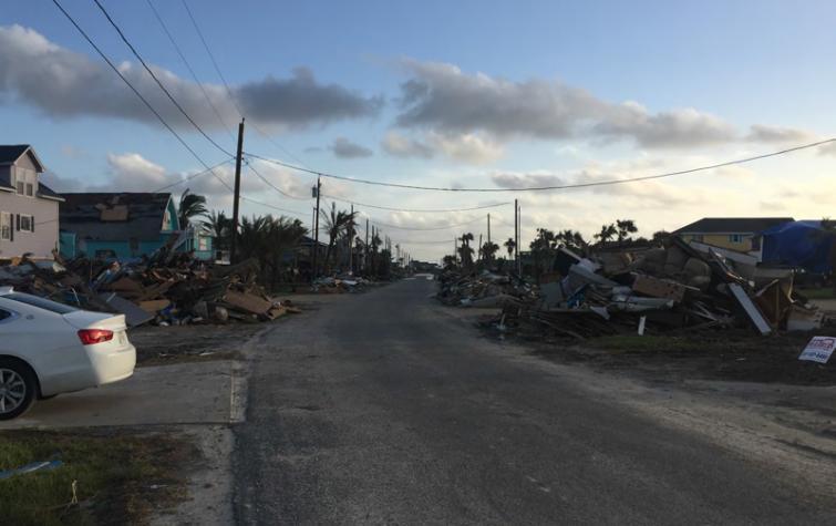 Aftermath of Hurricane Harvey in Texas, USA. Photo: Daniel Smith.