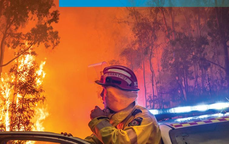 Cover photo used with the permission of the Department of Fire and Emergency Services, Western Australia, Photographer: Evan Collis