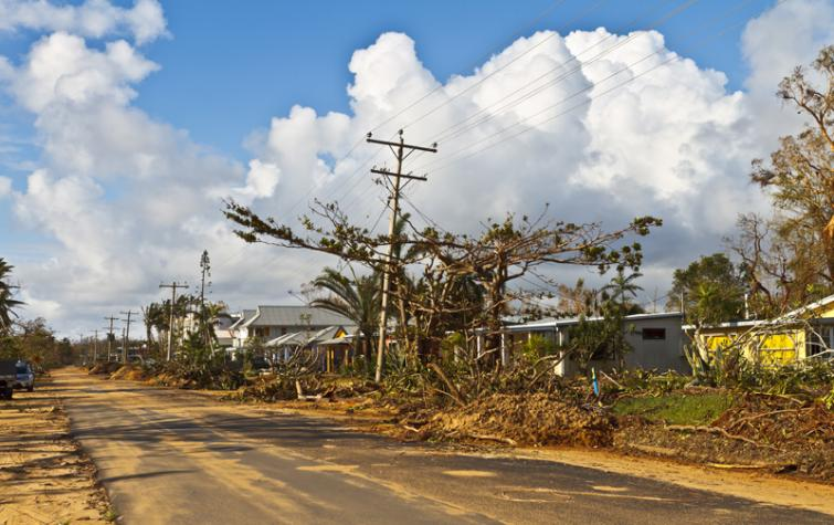 CRC research has helped the Queensland Government provide funding to help homeowners strengthen their homes from cyclone damage. Photo: Michael Dawes (CC-BY-2.0)