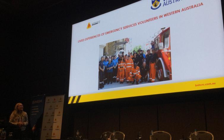 Aus & NZ Disaster and EM Conference 2019. Photo: Darja Kragt.